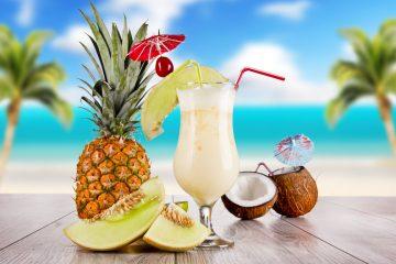 Kokteilis Pina Colada Karibai